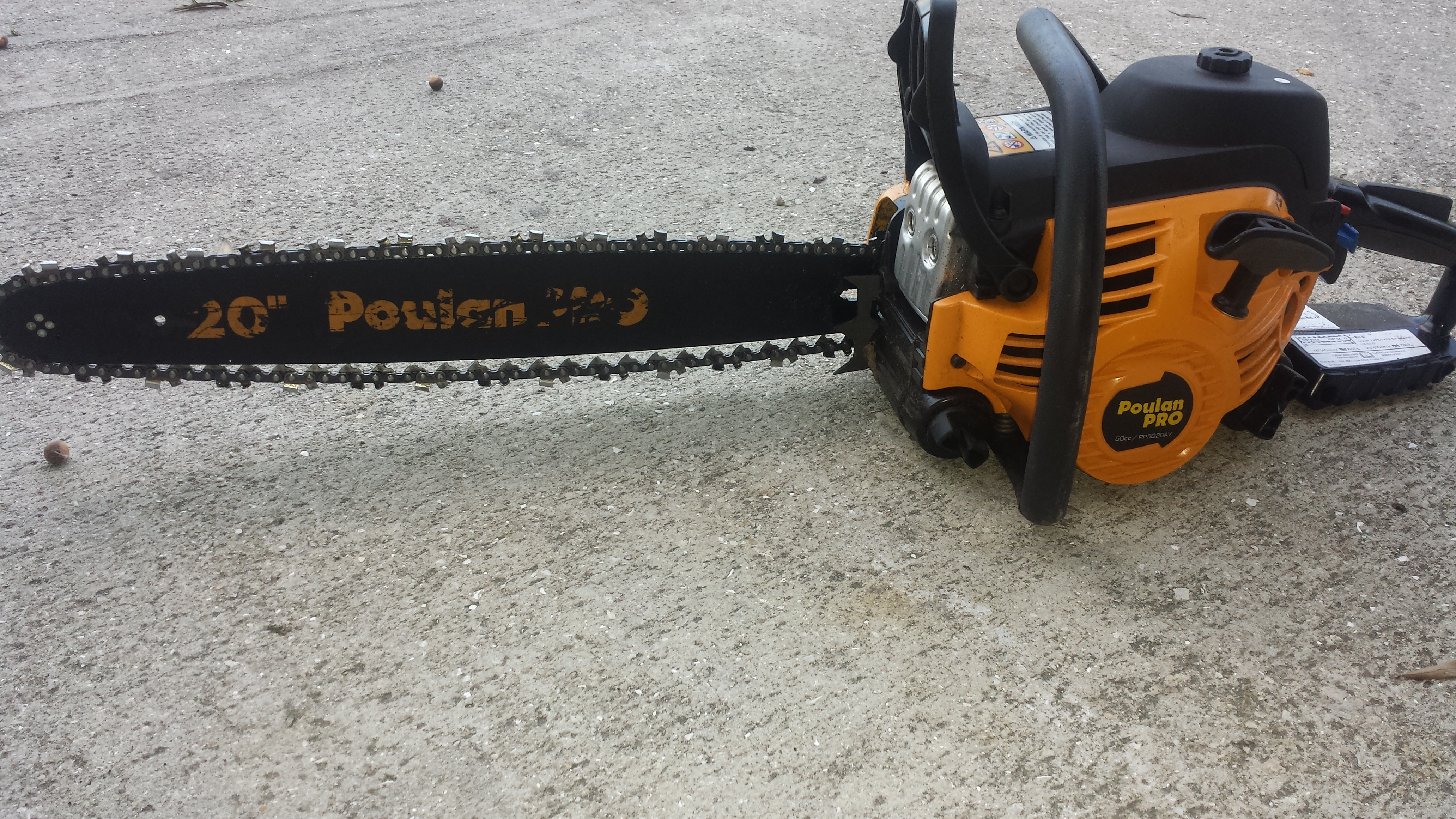 Poulan pro chain tightening problem arboristsite the chain is show at with the setting at its tightest greentooth Gallery